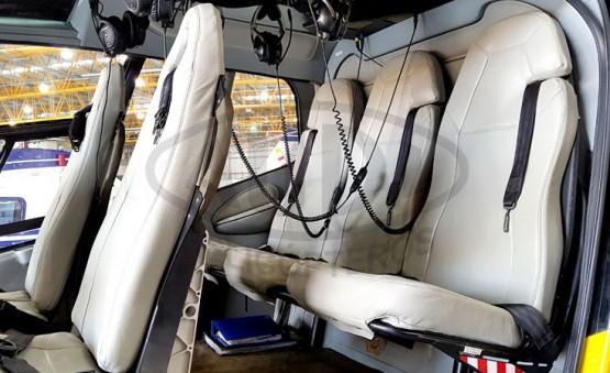 COLIBRI EC120B - Acomodações dos Passageiros