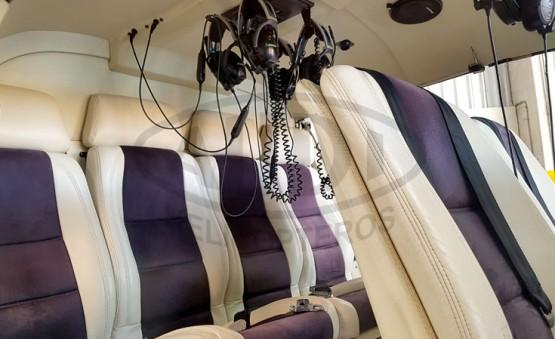 Esquilo AS350 B2 - Acomodações dos Passageiros